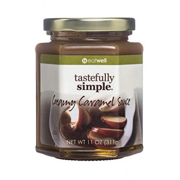 Tastefully Simple Creamy Caramel Sauce - Pairs with Apples, Mars...