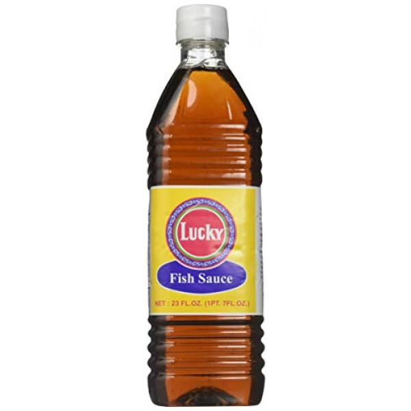 Lucky Brand Thai Fish Sauce 1