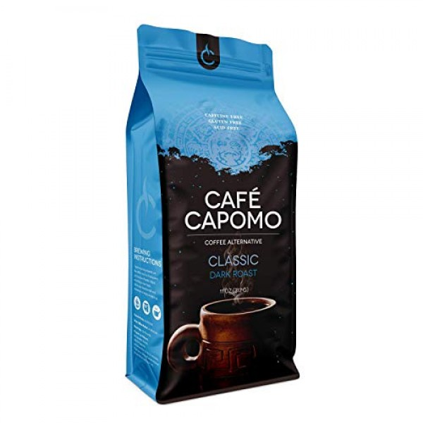 Capomo Herbal Coffee Substitute - Acid, Caffeine And Gluten Free...