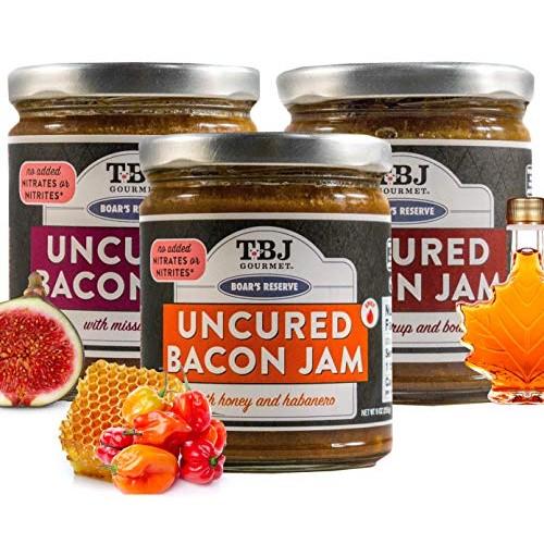 TBJ Gourmet Boar's Reserve Bacon Jam Gift Set - Original Recipe ...