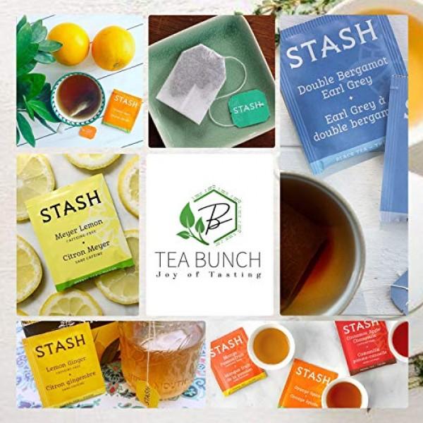 Herbal Tea Sampler Tea Bag Caffeine-Free Decaf GMO-Free Natural ...