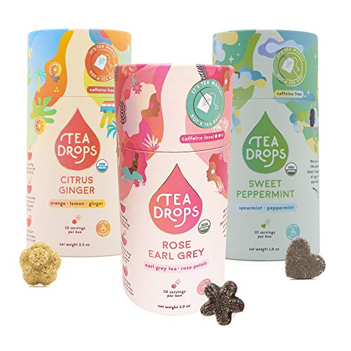 Sweetened Organic Loose Leaf Tea | Assortment 3-Pack Instant Tea...