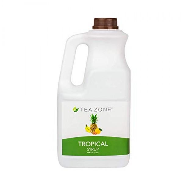 Tea Zone 64 fl. oz Tropical Syrup