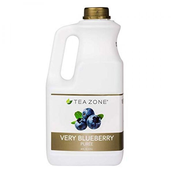 Tea Zone 64 fl. oz Very Blueberry Puree