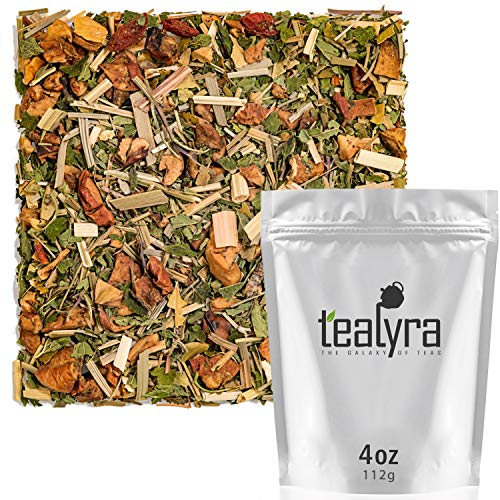 Tealyra - Citrus Sage - Herbal Loose Leaf Tea - Lemongrass - Ora...