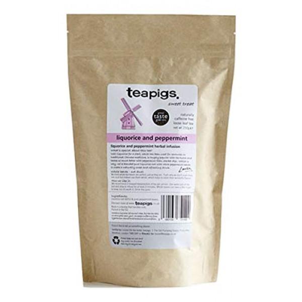 teapigs Liquorice & Peppermint Loose Tea, 250 Gram