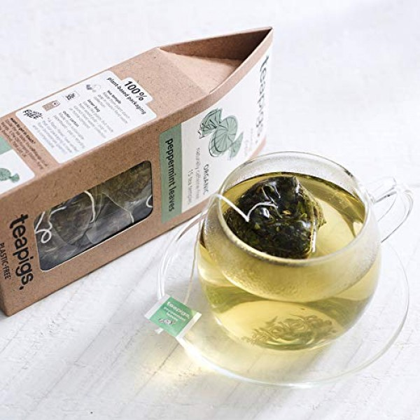 Teapigs Peppermint Leaves Loose Tea Made With Whole Leaves 1 Pa...