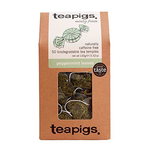 Teapigs Peppermint Leaves Tea Bags Made with Whole Leaves 1 Pac...