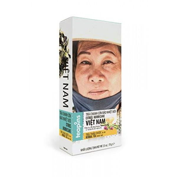 Citrus Hurricane Tea | Teapins Farmers Tea Herbal Tea Premium Lo...