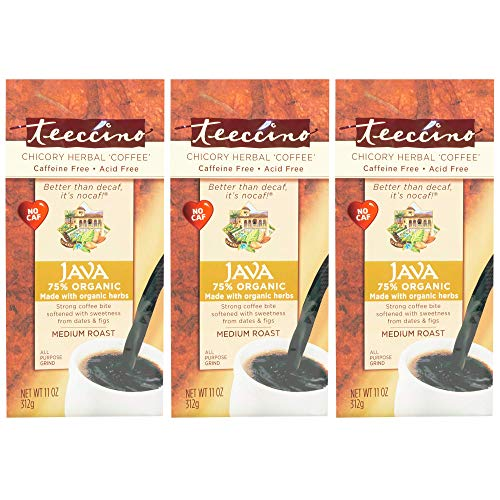 Teeccino Chicory Coffee Alternative - Java - Herbal Coffee | Gro...