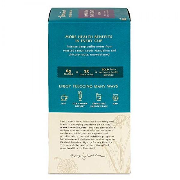 Teeccino Dandelion Tea – Dark Roast - Roasted Herbal Tea, Organi...
