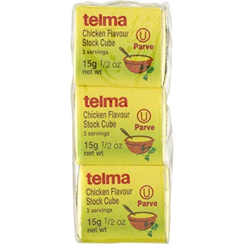 Telma Chicken flavor Stock Cubes, Parve. Kosher for Passover. 3/...