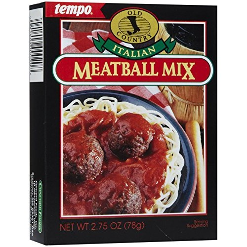 Tempo Italian Meat Ball Mix, 2.75 oz, 12ct