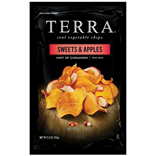 Sweets & Apples Chips with Cinnamon 5.50 Ounces Case of 12