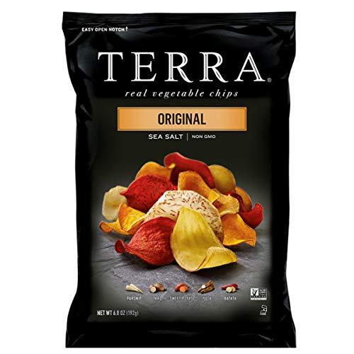 TERRA Original Chips with Sea Salt, 6.8 oz. Pack of 12