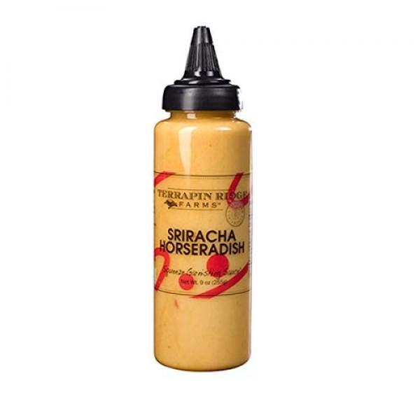 Terrapin Ridge Farms Sriracha Horseradish Garnishing Squeeze 9 O...