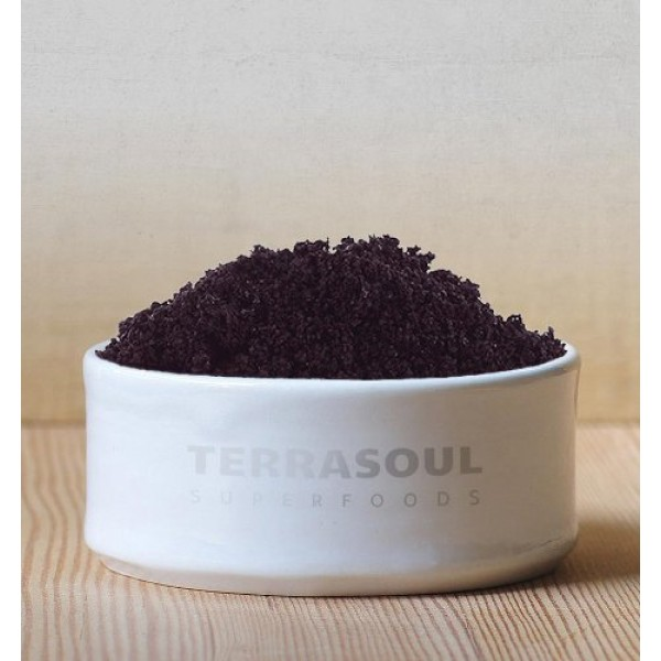 Terrasoul Superfoods Organic Acai Berry Powder, 8 Oz - Freeze-Dr...