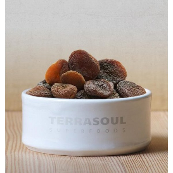 Terrasoul Superfoods Organic Apricots, 4 Lbs 2 Pack - Sun-drie...