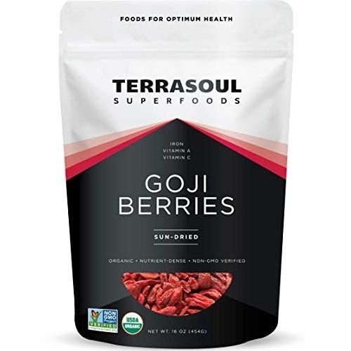 Terrasoul Superfoods Organic Goji Berries, 16 Oz - Large Size | ...