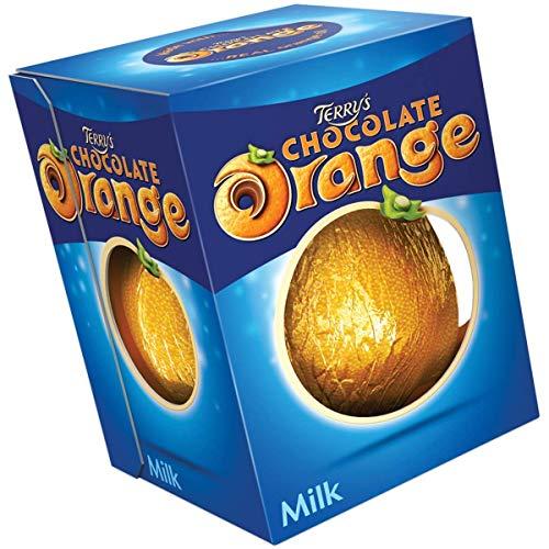 Terrys Chocolate Orange-Orange Flavored Milk Chocolate Ball, 6....