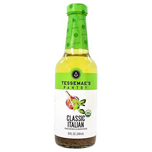 Tessemaes, Salad Dressing Classic Italian Organic, 10 Fl Oz