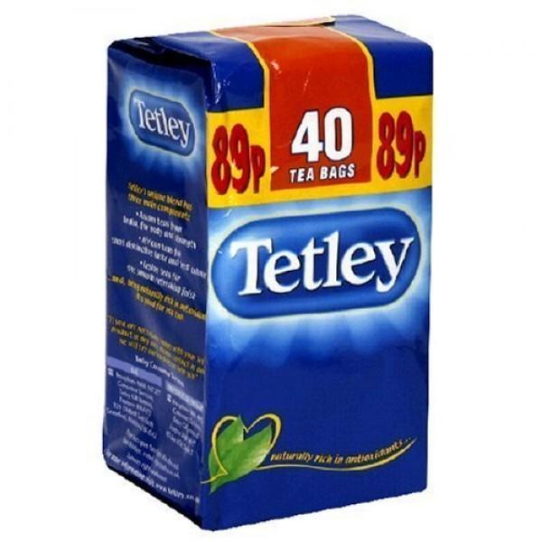 Tetley Teabags 40-Count Unit