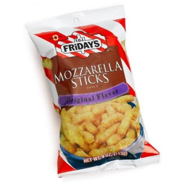 TGI Fridays Mozzarella Snack Sticks, 2.25-Ounces Pack of 6