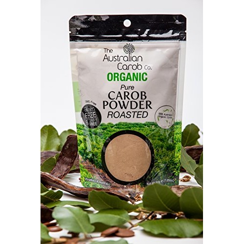 Organic australian carob co. premium roasted carob powder, re-se...