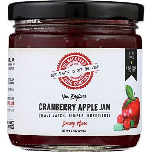 The Backyard Food Company, New England Cranberry Apple Jam, 7.6 ...