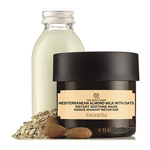 The Body Shop Mediterranean Almond Milk With Oats Soothing Mask,...