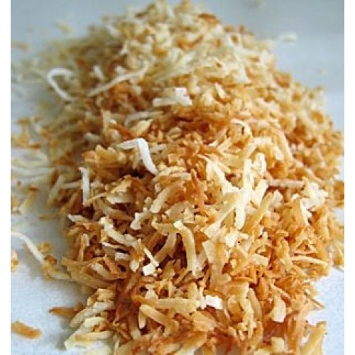 Toasted sweetened coconut 3 pounds hand toasted bulk best value ...