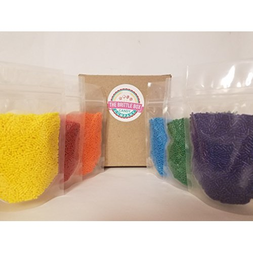 Sprinkles Baking Combo Pack Six Packs 4 Ounces Each Solid Color ...