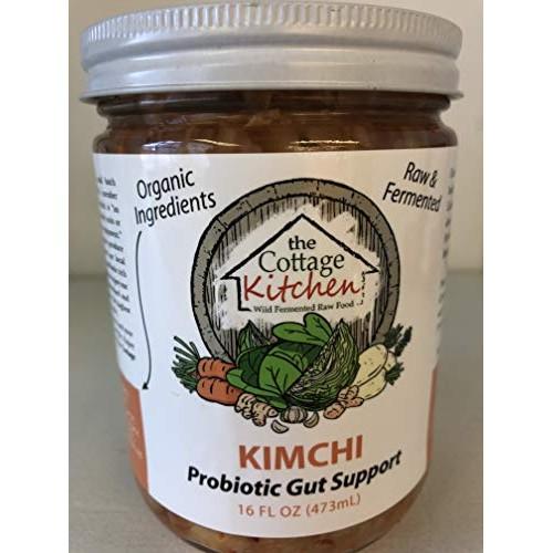 Kimchi-Organic cabbage, organic daikon radish, organic carrots, ...