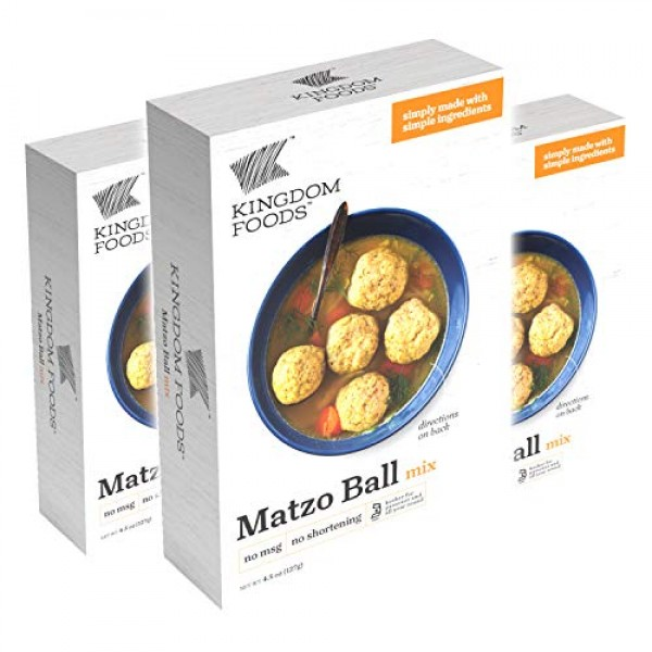 Matzo Ball Mix - No MSG, No Shortening - Kosher for Passover and...