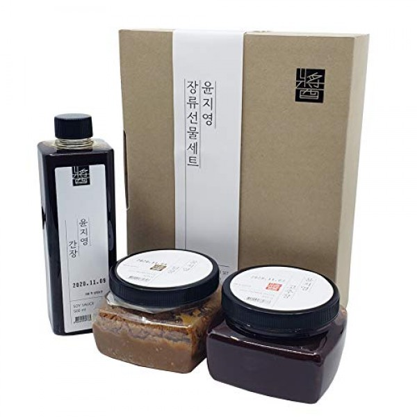 Korean Traditional 100% All Natural Fermented Soybean Paste 450g...