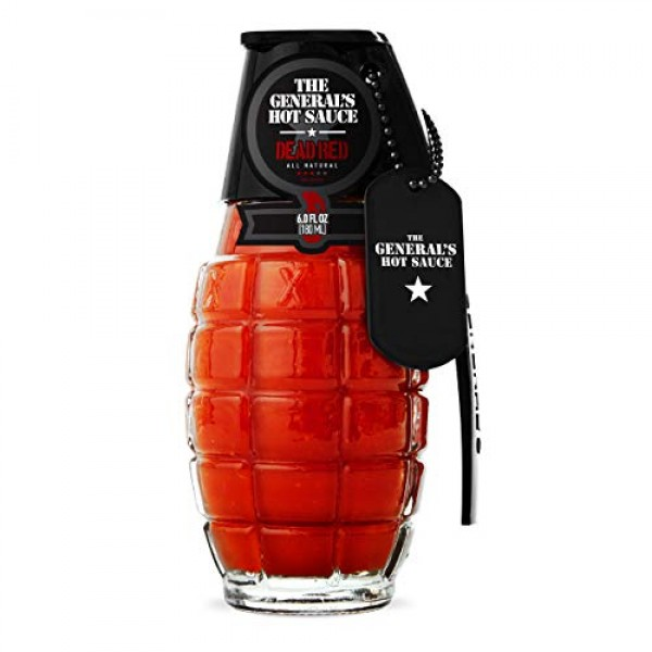 The Generals Hot Sauce Triple Threat: Three 6 oz Bottles of Gou...