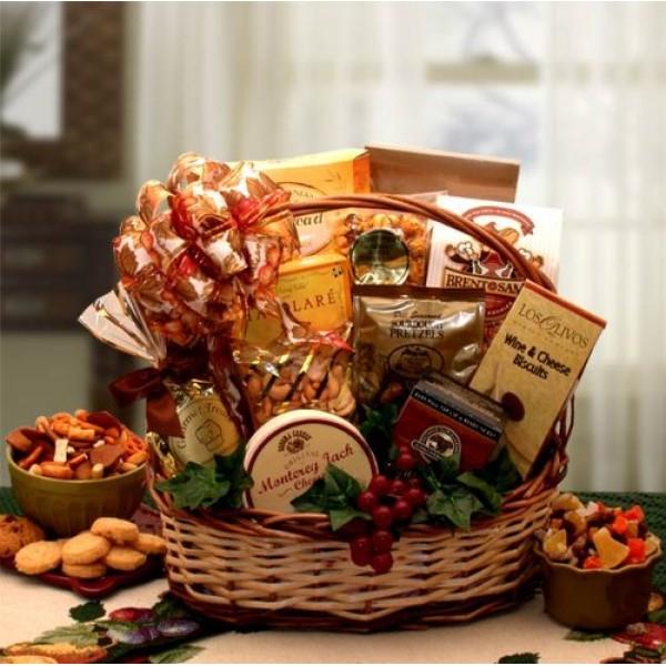 Elegant Bounty Gourmet Gift Basket | Makes a Great Gift Idea