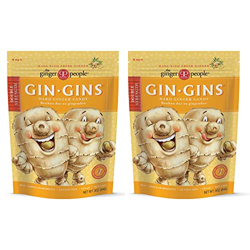 The Ginger People Gin Gins Hard Candy - 3 oz Pack of 2