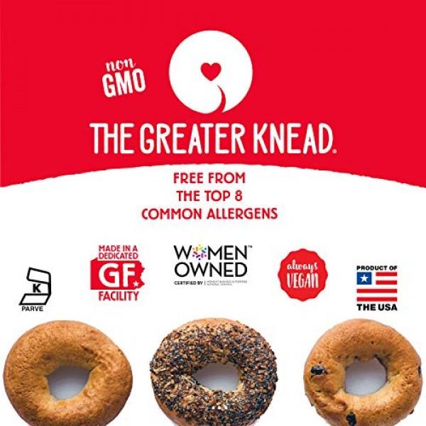 Greater Knead Gluten Free Bagel Chips - Plain, Vegan, non-GMO, F...