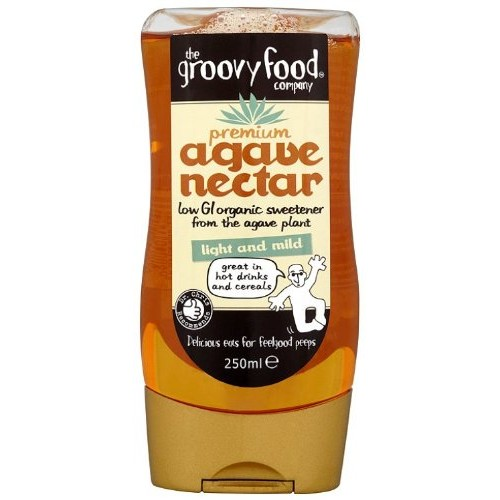The Groovy Food Company Organic Agave Nectar Natural Sweetener M...