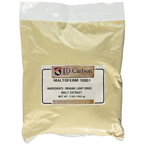 Organic Light Dried Malt Extract DME - Maltoferm 10001-3 lb.