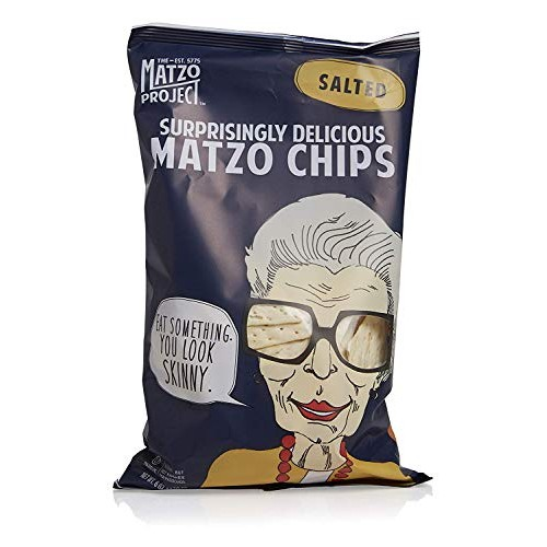 Matzo Chips, Salted, Large Bag, 6 oz, Pack of 3