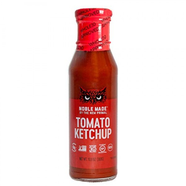 The New Primal Tomato Ketchup, Whole30 & Keto Approved, Gluten F...