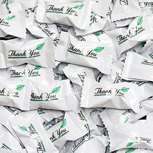 Thank You Wrapped Buttermint Creams 50 Count