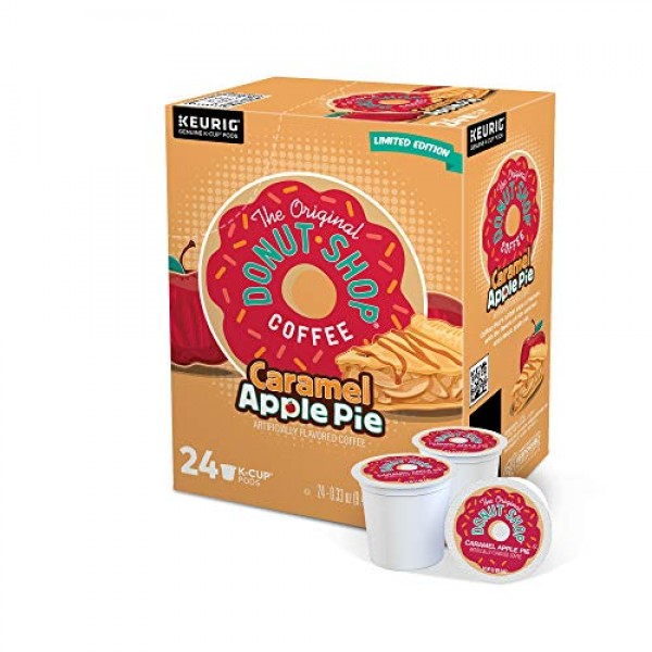 The Original Donut Shop Caramel Apple Pie Coffee, Single-Serve K...