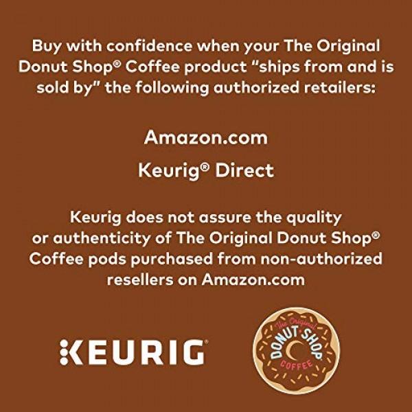 The Original Donut Shop Regular, Single-Serve Keurig K-Cup Pods,...