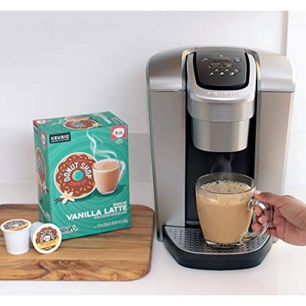 The Original Donut Shop Vanilla Latte, Single-Serve Keurig K-Cup...
