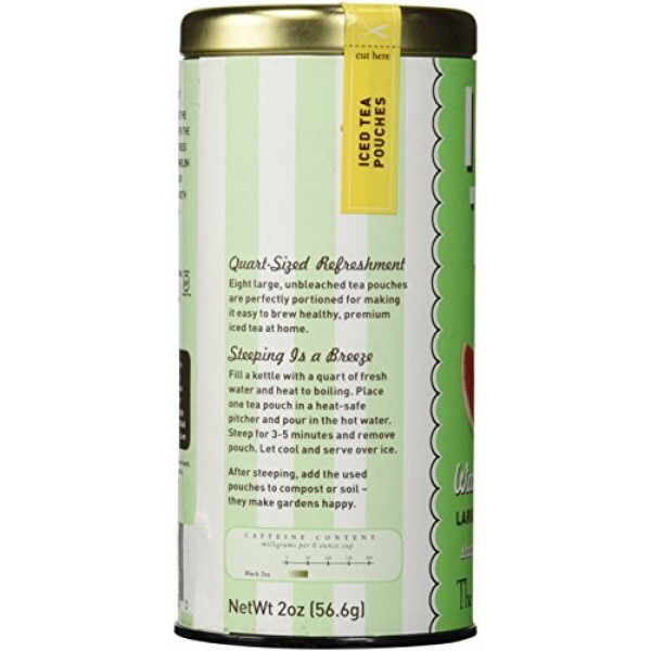 REPUBLIC OF TEA Iced Tea Watermelon Mint, 8 CT