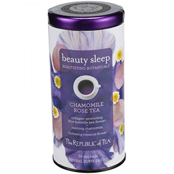 The Republic of Tea Beautifying Botanicals️ Beauty Sleep Herbal ...