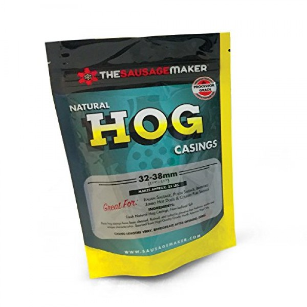 The Sausage Maker - North American Natural Hog Casings for Home ...